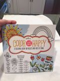 Color Us Happy coloring book for adults and kids