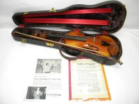1957 Thomas L. Fawick Violin with Lifton Case  Mueller Bow