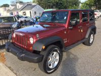 $15,990, maroon 2009 Jeep Wrangler Unlimited $15,990.00 | Call: (888) 282-0047