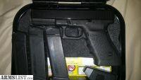 For Sale: Glock 21 gen 3 night sights 3 magazines