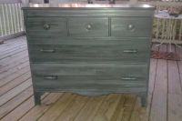 Antique Solid Wood Maple Dresser by The Company of Master Craftsmen