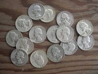 Silver Quarters, Coins