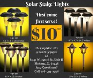 Solar Stake Lights for Camping Outdoors Nature Yard Lawn Garden Walkway Driveway Patio