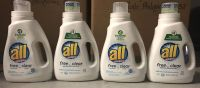 Free and Clear all laundry detergents