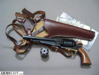 For Sale/Trade: Pietta 1858 44 cal Remington New Army Revolver with Shoulder rig and Conversion cylinder