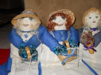 Handmade and Sewn Country Dolls