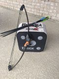Youth Bow, Target Block, and 6 Arrows