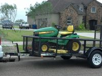 $3,200, John Deere X500 Riding Lawn Mower