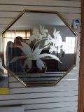 Mirror*Cut Glass*Hanging Mirror*Like New