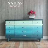 Painted Ombre Dresser