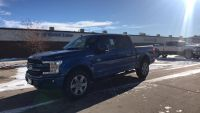2018 Ford F-150 Lariat 4WD SuperCrew 5.5' Box (Lightning Blue)