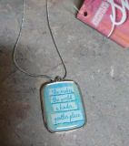 """NWT """"She"""" necklace"""