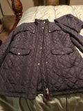 New Large Tommy Hilfiger quilted coat dark navy