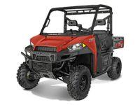$8,500, 2015 Polaris Ranger XP 900 Solar Red