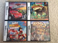 """Nintendo DS Games - 4 Titles - Rated """"E"""""""