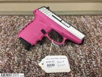 For Sale: SCCY CPX-2 9mm Pink/Stainless