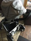Britax B-Ready double stroller with a lot of accessories!!