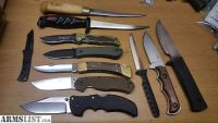 For Sale: Various knives