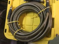 High pressure hoses, regulator and nozzles