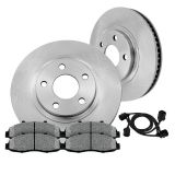 Sell Front 298 mm Brake Disc Rotors and Metallic Pads Kit 1963 - 1982 CHEVY CORVETTE motorcycle in Orland Park, Illinois, United States, for US $66.64