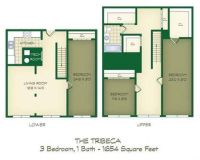 3 Beds - Lofts at the Mills
