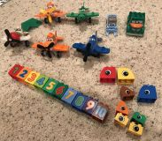 Duplo Airplane lot plus extra pieces from other sets