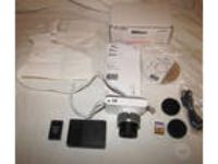 "Nikon 1 J1 10.1 MP Digital Camera W/Nikkor 10-30mm Lens 3"""