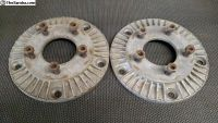 Wide 5 to Chevy wheel adapters