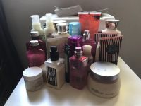 Body lotions, butters and perfume