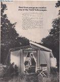 1968 1 Page Westfalia Camper Bus Print Ad #139