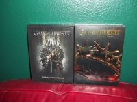 Seasons 1 and 2 Game Of Thrones DVDs