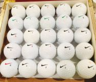 30 Nike used golf balls near mint condition