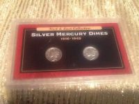 First & Last Collection Silver Mercury Dimes 1916-1945