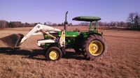 john deere 1650 with frontend loader (tyler)