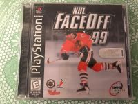 PlayStation - NHL Faceoff 99. Photo of Back Attached