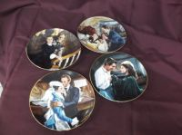 4 Gone With The Wind Plates