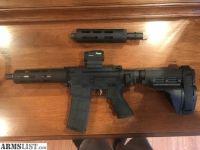 For Sale: AR Breakdown Pistol w/ Fostech Binary Trigger