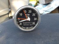Find Original Stewart Warner TACHOMETER rat hot rod gasser HEMI flathead Bonneville motorcycle in La Canada Flintridge, California, United States, for US $65.00