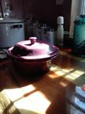 """""""Pampered Chef """" Round covered baker"""