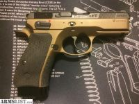 For Sale/Trade: CZ 75 SP-01 Compact 9mm