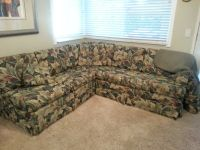sectional 2 piece with pillows