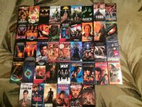 2 Boxes of VHS movies
