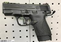 For Sale: Performance Center S&W M&P SHLD 9MM- Ported, Case, Knife, & Flashlight