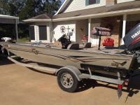 2004 18.5 G3 bass boat with 115 Yamaha