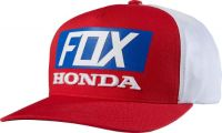 Buy Fox Racing Honda Standard Snapback Hat/Cap Fox Head/Honda Wing MX/ATV Red/White motorcycle in Longview, Washington, United States, for US $28.50