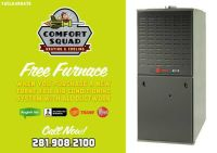 Get a FREE Furnace when you buy a Trane XR16 AC System with Ducts