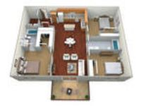 Courtyard 14 Apartments - Three BR, Two BA