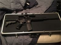 Anderson AR-15 W/3, 30 Rd. Mags, Scope & Case