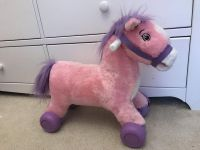 Pink Riding Horse that Rolls and Neighs!