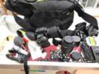 Nikon D D3200 24.2 MP Digital Camera - Black With Extras